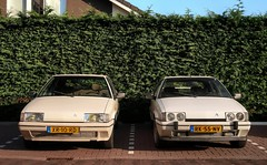 Citroën BX 19 TRI / 19 GTi (Skylark92) Tags: nederland netherlands holland utrecht lopik citroen bx 19 gti k6 1987 rk55nv blanc meije morettes 8v cremant 1989 xr10rd u9 tri road car tree