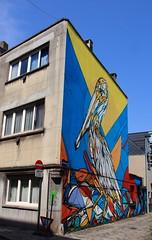 Malines Lekkernijstraatje @Dzia (Pélican)I MG_0220 (blackbike35) Tags: malines melchelen belgique art artwork de rue aérosol bomb paint graff graffiti street streetart urban public writing artist