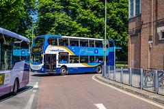 A sea of blue amongst a backdrop green (mangopearuk) Tags: uk unitedkingdom england hampshire bus buses publictransport transit stagecoach stagecoachsouth stagecoachinthesouthdowns stagecoachhampshire portsmouth southsea havant adl alexanderdennis