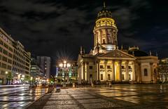 Berlin (Deutscher Dom) (DS_3107) Tags: berlin berlinmitte gendarmenmarkt germany hauptstadt city lighttrails nikon d3400 deutscherdom