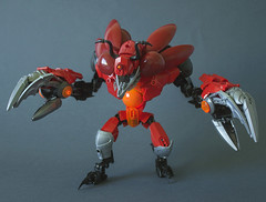 Krovika ([VB]) Tags: bionicle lego monster crab enemy moc crustacean fire big meaty claws