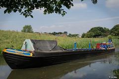 Mendip. (Lee1885) Tags: workingboat mendip narrowboat shropshireunioncanal canalwater stoak ellesmereport bridge boat transport