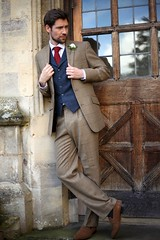 "Butler Stewart Grooms Oufit in Harvest Tweed • <a style=""font-size:0.8em;"" href=""http://www.flickr.com/photos/139554703@N03/27886282857/"" target=""_blank"">View on Flickr</a>"