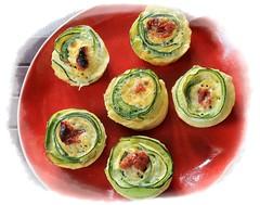Rosaces de courgette (eva Landes) Tags: vegetables légumes food yummy