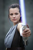 Rey cosplayer at ExCeL London's MCM Comic Con, May 2018 (Gordon.A) Tags: london docklands londondocklands excel excellondon excellondonexhibitioncentre moviecomicmedia mcm con convention comicbookconvention comiccon mcmcomiccon mcmlondon comicconlondon comicconlondonexcel 2018 may2018 mcm2018 creative costume culture lifestyle style rey starwars theforceawakens thelastjedi lightsaber cosplay cosplayer cosplayportrait cosplayphotography festival event eventphotography amateur pose posed portrait portraitphotography streetportrait streetphotography colourportrait colourstreetportrait naturallight naturallightportrait canon eos 750d canoneos750d sigma sigma50100mmf18dc