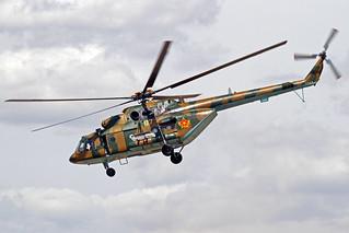 Kazakhstan Air Force ANSAT Mi-171SH-P 07 Yellow TSE 25-05-18