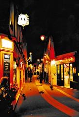 Latin Quarter night streetscene (stevelamb007) Tags: france paris streetscene night latinquarter stevelamb