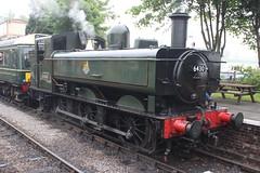 Pannier 6430 and DMU (372Paul) Tags: toddington broadway cheltenham hailes foremarkehall po kingedwardii 6023 5197 s160 7903 6430 pannier dmu cotswoldfestivalofsteam gloucestershirewarwickshirerailway steam locomotive class20 class26 shunter