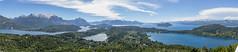 Cerro Campanario - Panorámica (matiasrquiroga) Tags: panorama view amazing lake mountains wide bariloche campanario patagonia argentina rio negro colors