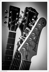 Tuned 149/365 (John Penberthy LRPS) Tags: musicalinstrument d750 nikon monochrome day149365 365the2018edition 29may18 3652018 mono strings music blackandwhite guitar johnpenberthy