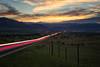 Into Rocky Mountains (Hongyu Guo) Tags: boulder rockymountain lighttrail longexposure sunset landscape colorado