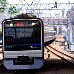 Odakyu 3000 type train (2 generations) at Sagamiono station station : 小田急3000形電車 (2代)(相模大野駅) thumbnail