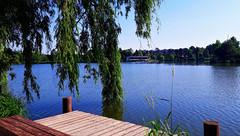 Nyári délelőtt a stégen (Szombathely) (milankalman) Tags: lake summer sunshine pier