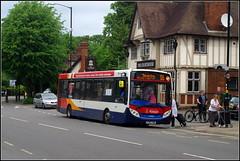 Stagecoach 37065 (Lotsapix) Tags: stagecoach midlands buses bus rugby d2 dennis enviro enviro200 adl alexander 37065 yy63yrm