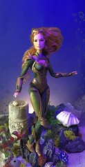 Full Fathom Five... (MaxxieJames) Tags: mera aquaman barbie amber heard justice league dc dcu underwater mattel doll collector