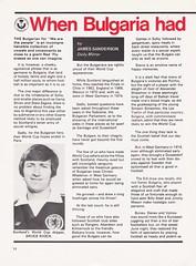 Scotland vs Bulgaria - 1978 - Page 14 (The Sky Strikers) Tags: scotland bulgaria european international match friendly sfa hampden park programme 20p