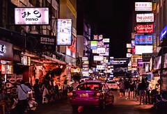 bangkok night (poludziber1) Tags: street streetphotography summer city colorful color cityscape capital bangkok thailand urban travel