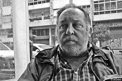 Jesús (Franco D´Albao) Tags: francodalbao dalbao canonpowershotg10 portrait jesús bn bw hombre man