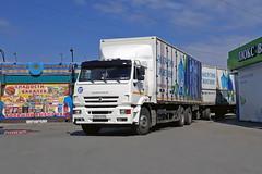 KamAZ-6520  А 761 СУ 174 (RUS) (zauralec) Tags: kurgan street1stmay город курган улица транспорт автомобиль грузовик kamaz6520 а 761 су 174 rus