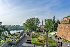 Beograd, Serbia (aleksa.ndar) Tags: beograd serbia srbija river confluence travel traveler city park belgrade dunav sava danube kalemegdan fortress