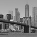 Brooklyn Bridge & Manhattan (NYC USA)