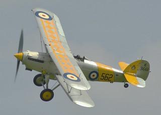 Hawker Nimrod II G-BURZ K3661
