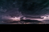 Nighttime Supercell (mesocyclone70) Tags: supercell lightning thunderstorm stormchase mesocyclone kansas weather