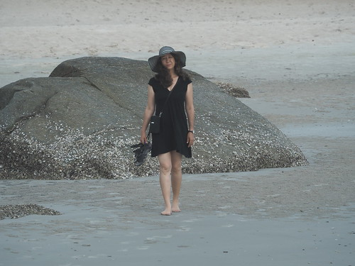 Jessica on Hua Hin Beach