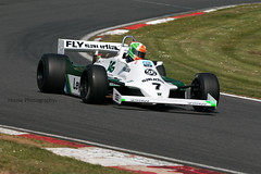 * Williams FW07 (2) * ({House} Photography) Tags: fia masters historic formula one championship f1 msvr car automotive brands hatch uk kent fawkham race racing motor sport motorsport canon 70d housephotogaphy timothyhouse sigma 150600 contemporary williams fw07