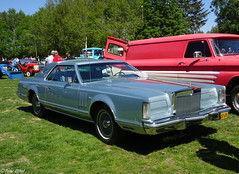 Lincoln Continental Mark V (peterolthof) Tags: peterolthof klazienaveen oldtimerdag 652018