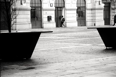 (Davide Zappettini) Tags: street bw people station filmphotography filmbw davidezappettiniphotography kodaktmax
