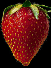 Lonesome Strawberry (oliver.nispel) Tags: outdoor stilllife style food fruit macro macrophotography nature plant strawberry health healthy red fresh yummy closeup