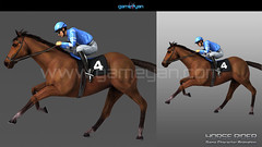 3D Horse Riding Quadruped Character Modeling by Gameyan Rigging Animation Studio - New York, USA (GameYanStudio) Tags: character charactermodeling characteranimation characterdesign animation modeling rigging quadruped 3dcharacterdesigner game 3d animationstudio 3dcharactermodeling