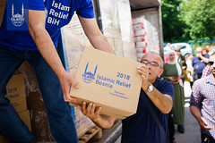 Food distribution Ramadan 2018