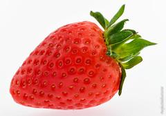 Ripe Strawberry (PerfectStills) Tags: d850 ireland flash cube aubreymartin perfectstills jun18 macro product photography strawberries tent strawberry perfectstillscom fruit stilllife red