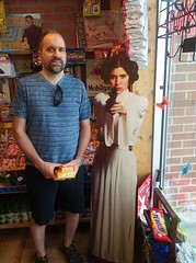 The princess and I (creed_400) Tags: princess leia star wars kevin grand rapids west michigan june spring