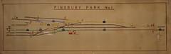 Finsbury Park No1 (P Way Owen) Tags: finsbury park no 1 signalbox diagram