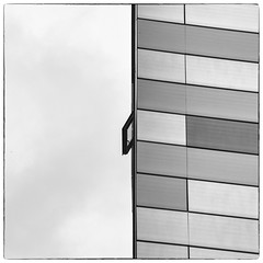 Open window - explored (Joseph Pearson Images) Tags: uilding architecture abstract london square blackandwhite mono bw