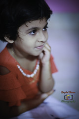 Parisa (rajib045) Tags: candid portrait child red beautiful beauty