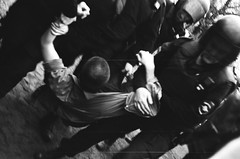 I. Next (AStomatin) Tags: russia petersburg town city protest may day spring students teenage young telegram durov analog film canon a1 type d road people photo