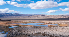 Saratoga Springs, Death Valley National Park (joeqc) Tags: ca california dvnp deathvalleynationalpark water spring clouds fuji xe3 xf1024f4r
