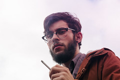 Portraits of myself (andrw.photography) Tags: cigarro barba clubmaster oculos fumante andrw photography andre andrade