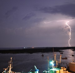 'What The Fork?' (SONICA Photography) Tags: lighting essex lightning blitzen donner coupdefoudre leighonsea stormy storm crackingstorm stormyweather