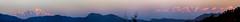 mussoorie_stitch (Mainak Roy Camerawork) Tags: canon top panorama t3i peak mountain range musooriee landscape hills sunset sky shadow orange snow clad hue