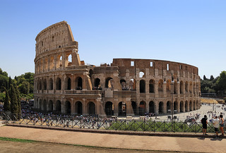 The Colosseum is an iconic symbol of Imperial Rome