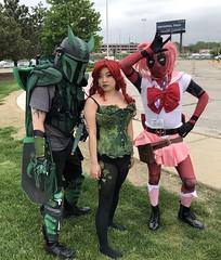 ACen2018 (KitKat_71) Tags: mandalorian poisonivy deadpool animecentral acen cosplay