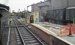 Ropley Station, MHR, 31 Aug 2000 (Ian D Nolan) Tags: railway mhr station 35mm epsonperfectionv750scanner ropleystation