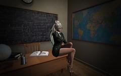 Detention for everyone (Duchess_sl) Tags: sl bdc school