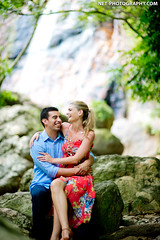 Lamai Waterfall Koh Samui Wedding Photography (NET-Photography | Thailand Photographer) Tags: 2013 400 85mm 85mmf14 d4 lamaiwaterfall camera engagement f14 honeymoon island iso iso400 ko koh lamai nature netphotographer netphotography nikon photoshoot photography postwedding prewedding prenup prenuptial samui session th tha thailand waterfall photographer professional service wedding documentary best couple love asia asian destination popular thai local kohsamui suratthani