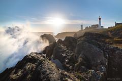 Le phare de Saint Mathieu (Kambr zu) Tags: ach bretagne ciel erwanach finistère kambrzu landescape lanterne lighthouse merdiroise nikon paysagesmythiques phare plougonvelin saintmathieu sea seascape tourism
